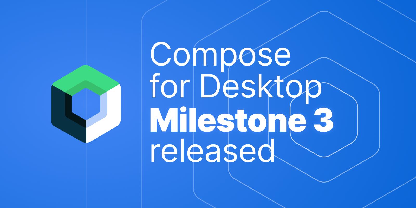 Compose for Desktop M3 Banner
